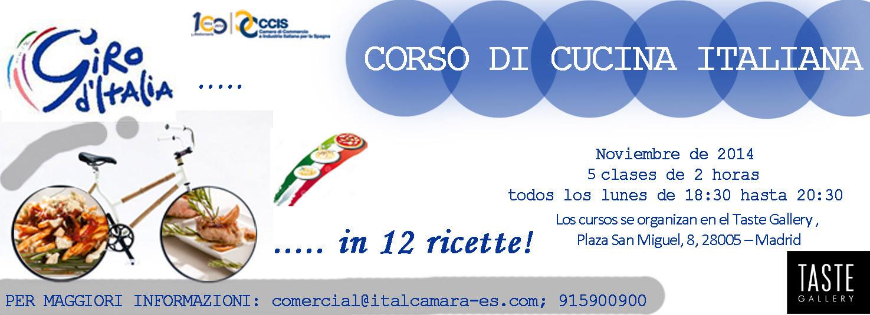 Cucina a madrid giro d italia in 12 ricette infoitaliaspagna - Corso cucina italiana ...