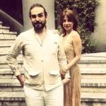 Gaia Danese e il  marito  Juan Carlos Reche, in una foto Facebook